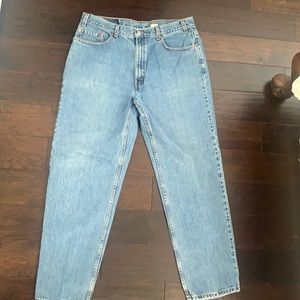 Vintage Levi's 550 relaxed fit blue jeans